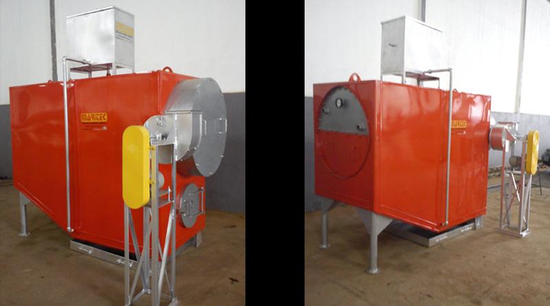 Aquecedor de Piscina – Combustível Gás GLP/Natural, Lenha e Óleo